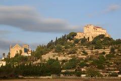 Majorca Mallorca Arta church Spain copyspace copy space Royalty Free Stock Photo
