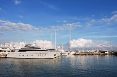 Majorca Marina Royalty Free Stock Photos