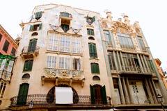 Majorca Marques de Palmer modernist building Stock Image