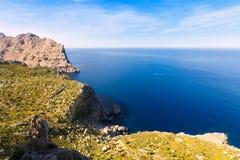 Majorca mirador Formentor Cape Mallorca island. Majorca mirador Formentor Cape in Mallorca island of spain Royalty Free Stock Photo