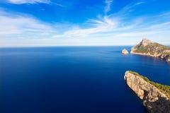 Majorca mirador Formentor Cape Mallorca island. Majorca mirador Formentor Cape in Mallorca island of spain Stock Photography
