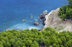 Majorca/Mittelmeerschacht Stockbild