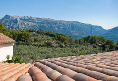 Majorca Mountains Stock Photos
