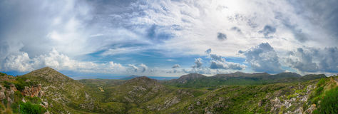 Majorca mountains Royalty Free Stock Image
