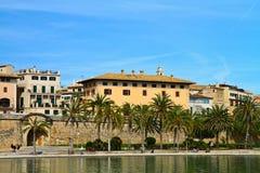 Majorca Palma Cathedral  at Balearic Islands Royalty Free Stock Images