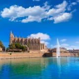 Majorca Palma Cathedral Seu Seo of Mallorca Royalty Free Stock Photo
