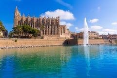 Majorca Palma Cathedral Seu Seo of Mallorca Royalty Free Stock Photography