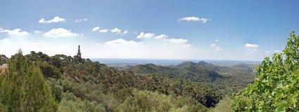 Majorca panorâmico Fotografia de Stock
