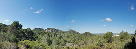 Majorca panoramique Images libres de droits