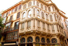 Majorca Placa Plaza Marques de Palmer Royalty Free Stock Photo