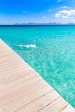 Majorca Platja de Muro beach Alcudia bay Mallorca Stock Photo