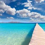 Majorca Platja de Muro beach Alcudia bay Mallorca Royalty Free Stock Image