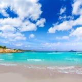 Majorca Platja Palmanova beach in Calvia Bol Teules Royalty Free Stock Photography