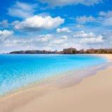 Majorca Platja Palmanova beach in Calvia Bol Teules Stock Photos