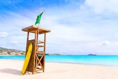 Majorca Platja Palmanova beach in Calvia Bol Teules Royalty Free Stock Image