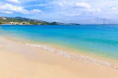 Majorca Platja Palmanova beach Son Maties Mallorca Stock Images