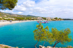 Majorca Platja Palmanova Portonovo beach Stock Photos
