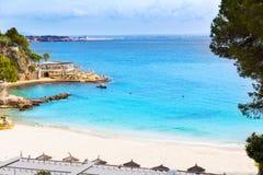 Majorca Playa de Illetas beach Mallorca Calvia Stock Images