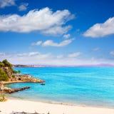 Majorca Playa de Illetas beach Mallorca Calvia stock photos