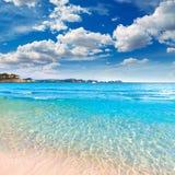 Majorca Playa de Palmira beach Calvia in Mallorca. Majorca Platja Playa de Palmira beach Calvia in Mallorca Balearic islands of spain royalty free stock image