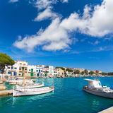 Majorca Porto Colom Felanitx port in mallorca Stock Photos