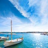 Majorca Porto Colom Felanitx port in mallorca. Balearic island of Spain Royalty Free Stock Photo