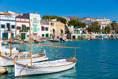 Majorca Porto Colom Felanitx port in mallorca Stock Image