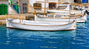 Majorca Porto Colom Felanitx port in mallorca Stock Photography
