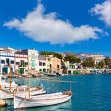 Majorca Porto Colom Felanitx port in mallorca. Balearic island of Spain Royalty Free Stock Photos