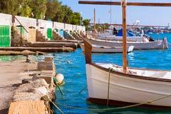 Majorca Porto Colom Felanitx port in mallorca. Balearic island of Spain Stock Image