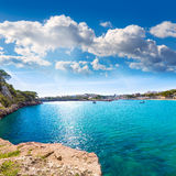 Majorca Porto Cristo beach in Manacor at Mallorca Stock Images