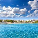 Majorca Porto Cristo beach in Manacor at Mallorca Stock Images