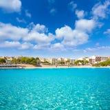 Majorca Porto Cristo beach in Manacor at Mallorca Royalty Free Stock Photo