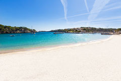 Majorca Porto Cristo beach in Manacor at Mallorca Stock Photos