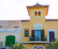 Majorca Porto Cristo facade in Manacor at Mallorca Royalty Free Stock Photo