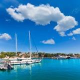 Majorca Porto Cristo marina port Manacor Mallorca Royalty Free Stock Image