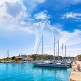 Majorca Porto Cristo marina port Manacor Mallorca Stock Image