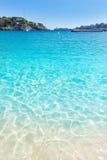 Majorca Porto Cristo strand i Manacor på Mallorca Royaltyfri Foto