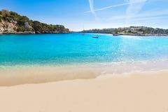 Majorca Porto Cristo strand i Manacor på Mallorca Royaltyfria Foton