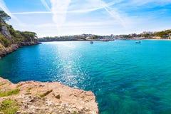 Majorca Porto Cristo strand i Manacor på Mallorca Arkivbild