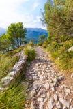 Majorca Puig de Maria Pollenca Pollensa in Mallorca Royalty Free Stock Image