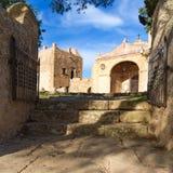 Majorca Puig de Maria PollencaSanctuary Mallorca imagen de archivo libre de regalías