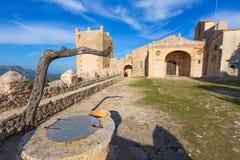 Majorca Puig de Maria PollencaSanctuary Mallorca Royalty Free Stock Photography