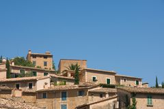 Majorca rooftops Stock Photos
