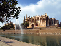 Majorca's Cathedral Royalty Free Stock Image
