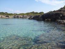 Majorca-` s Strand Lizenzfreies Stockfoto