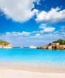 Majorca sAmarador beach Amarador in Mondrago Royalty Free Stock Image