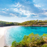 Majorca sAmarador beach Amarador in Mondrago. Mondragon Natural Park of Mallorca Balearic Island Stock Photos