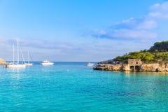 Majorca sAmarador beach Amarador in Mondrago. Mondragon Natural Park of Mallorca Balearic Island Stock Image