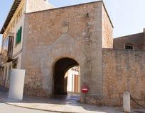 Majorca Santanyi village in Mallorca Balearic island Royalty Free Stock Images